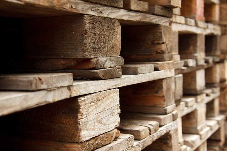 wood pallets collection