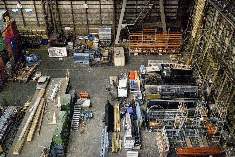 Pallet Warehouse Management